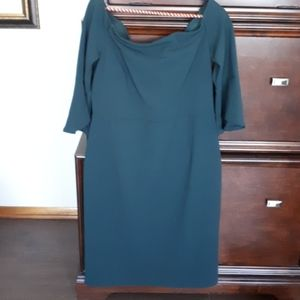Forest green dress NWT